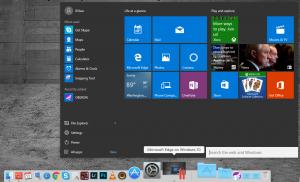 Menu Windows 10