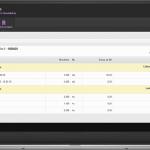 OBERON Web - Hotelový účet v internetovom prehliadači po prihlásení hosťom