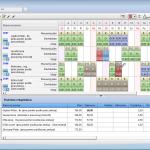 Modul Mzdy a dochádzka_formulár Pracovný kalendár